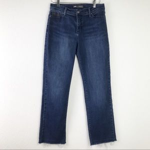 Levi's 512 Women's Perfectly Slimming Straight Leg High Rise Cropped Jeans 10